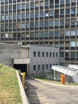 bâtiment des urgences