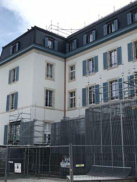 Réféction façade - CICR